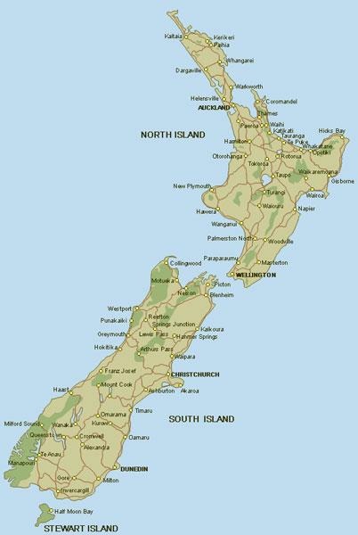 Nya Zeeland Pa Egen Hand